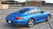 Porsche Carrera Pellicola Blu Opaco