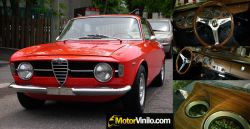 Alfa Romeo Giulia Restauración Pellicola Madera