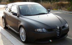 Alfa Romeo GTA nero opaca