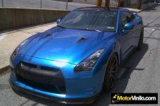 Vinilo blue lucida Metalizado 3M