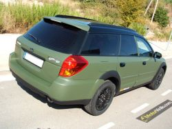 Subaru Vinilo Verde opaca militare