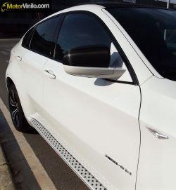 retrovisore BMW X6 pellicola fibra di carbonio