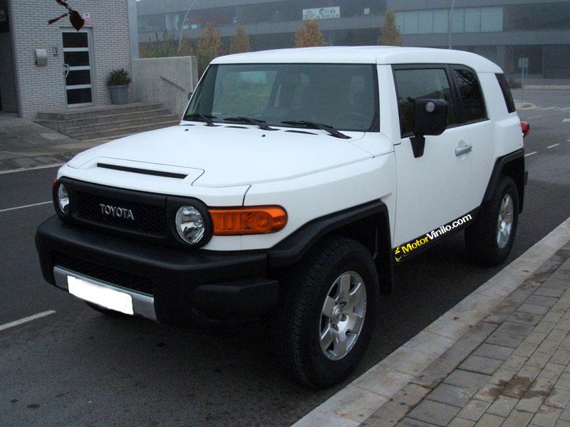 Toyota FJ Cruiser Pellicola 3M